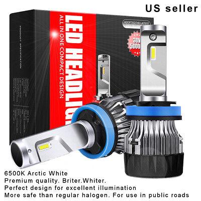9005 LED Headlight  Kit, Set Cree 30W 5000LM 6500K  Arctic White High beam