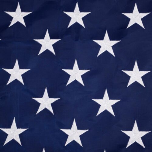 3'x5' ft American Flag Sewn Stripes Embroidered Stars Brass Grommets USA US U.S.