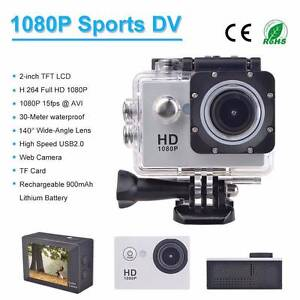GO Pro Style Sports Action Video WATERPROOF Camera 1080p Full HD Blacktown Blacktown Area Preview