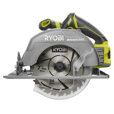"NEW RYOBI P508 18V BRUSHLESS CORDLESS 7-1/4"" CIRCULAR SAW"
