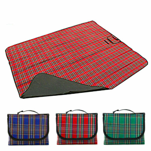 Waterproof Picnic Blanket Camping Beach Mat Pad Outdoor Trav