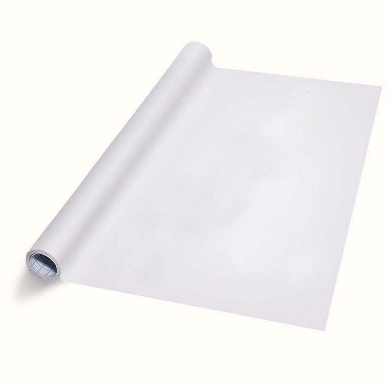 "Dry-Erase Whiteboard Film Self-Adhesive Wallpaper (Size 35.4""x59"")"