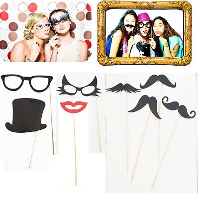 ehör Photo Booth Props Set Party Hochzeit Fotorequisiten  (Requisiten Foto)