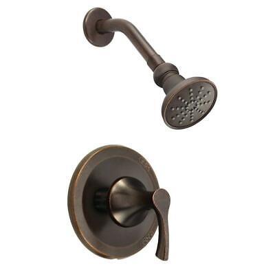 Danze Antioch Single-Handle Shower Faucet Trim Kit, Tumbled Bronze (Less Valve) Antioch Trim Kit