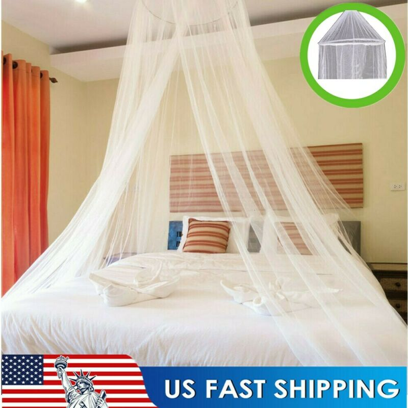 Mosquito Net Bed Queen Size Home Bedding Lace Canopy Netting Netting+Hanging Kit