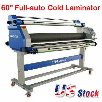 60 Full-auto Take Up Low Temp Large Format Hot Cold Seal Laminator Machine Usa