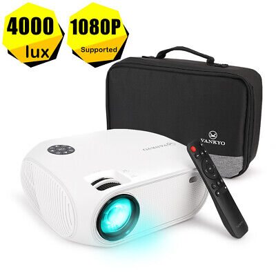 VANKYO 1080P LED Projector Mini Home Cinema TV Stick Xbox Game PROJECTOR 4000LUX