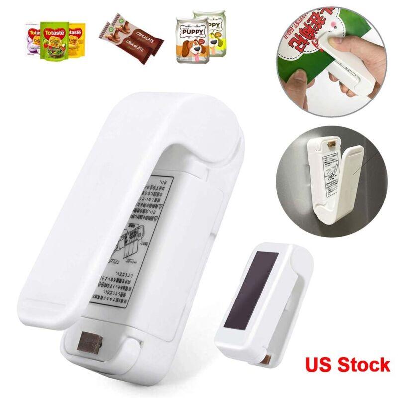 Mini Heat Sealing Machine Portable Handheld Plastic Bag Sealer Food Storage