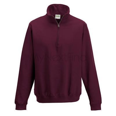 AWDis Just Hoods Sophomore 1/4 Zip Sweatshirt