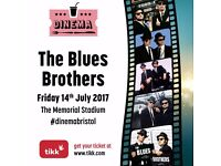 Blues Brothers in Bristol - Bristol Outdoor Cinema - 14 July 2017