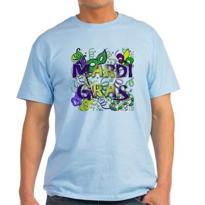 CafePress MARDI GRAS Light T Shirt 100% Cotton T-Shirt (766387932)