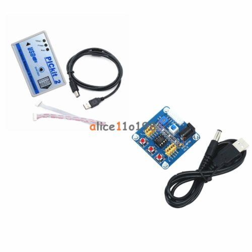 5v Pic12f675 Development Board +microchip Pic Emulator Pickit2 Programmer Cable