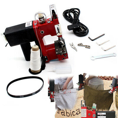 Industrial Sewing Machine 0-6mm Bag Closer Sack Closing Stitching10 Needle 110v