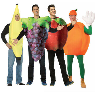 Adult Fruit Group Costume Set - Adult Fruit Costume