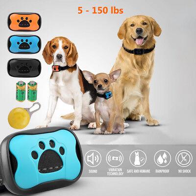 Anti Bark No Barking Remote Electric Shock Sound Dog Pet Training Collar S/M/L