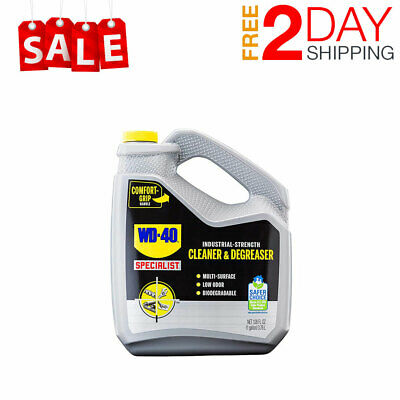 Wd-40 Specialist Industrial-strength Cleaner Degreaser Non-aerosol 1 Gallon