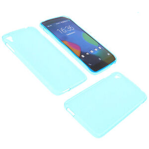 Funda para alcatel one touch idol 3 5 5 funda protectora de m vil tpu goma azul ebay - Fundas alcatel one touch idol ...