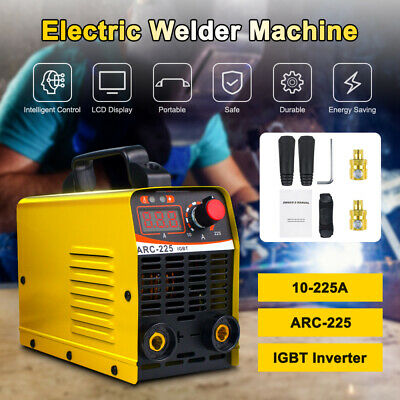 110v Electric Welder Machine Igbt Inverter Stick Welder Mma Arc Welding 10a-225a