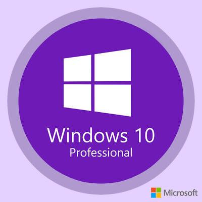 Microsoft Windows 10 Professional x64-bit Activation Key - OEM