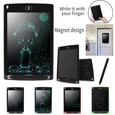 New LCD E-Writing Tablet Pad Educational Learning Toy Gift for Kids & Childerns