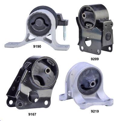 Engine Motor  Transmission Mount Set 4PCS for Nissan Altima 2002 2006 25L