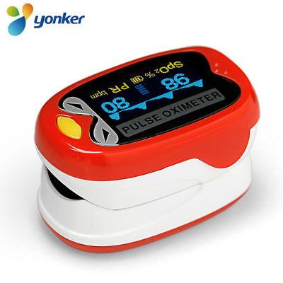 Yonker K1 Infant Pediatric Kid Rechargeable Finger Pulse Oximeter Spo2 Monitor