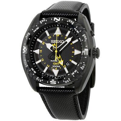 Seiko Prospex Quartz Movement Black Dial Men's Watch SUN057 **Open Box**