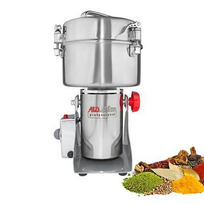 Grain Mill Grinder | Swing Type Grinder | High-Speed Electric Chopper | 2000 gr
