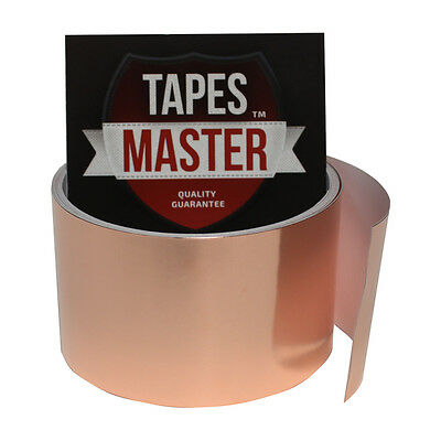 Copper Foil Tape - 2 X 10ft - Emi Conductive Adhesive Ship From Usa