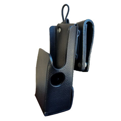 Case Guys Mr8608-3aw Leather Holster For Motorola Apx 6000 8000 Two Way Radios
