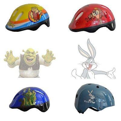 Bambini Casco - Skater - Scooter - Shrek - Bugs Coniglio