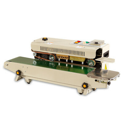 Continuous Horizontal Sealing Packing Machine Band Sealer Length Unconstrained