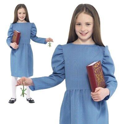 Roald Dahl Matilda Costume Kids World Book Day Girls Childrens Fancy - Roald Dahl Matilda Kostüm