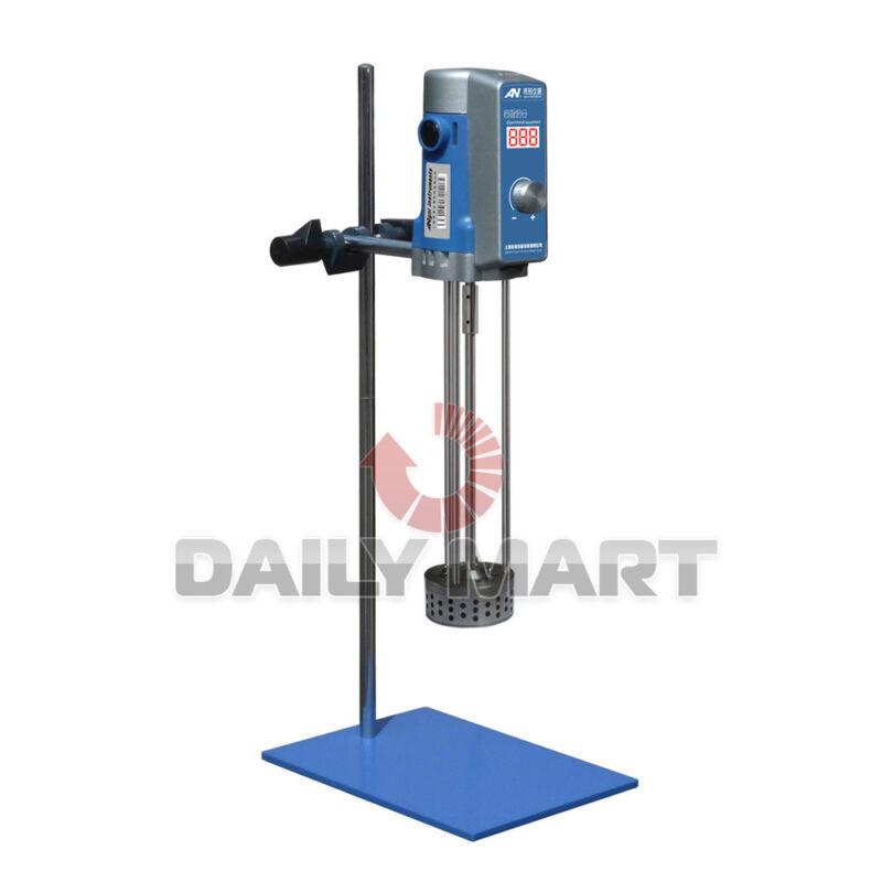 AE500S-H Lab Equipment Shear Mixer Emulsifying Machine 500W 90mm Digital Display