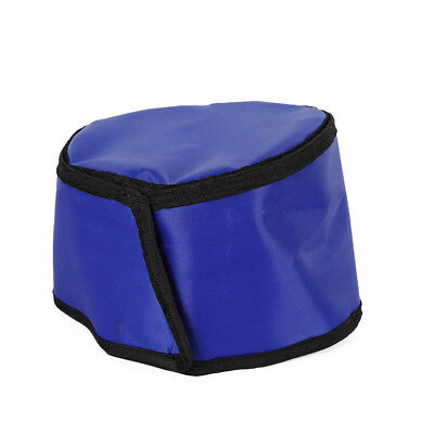 New X-ray 0.5mmpb Shield Head Protection Soft Lead Cap Blue Radiation Safety