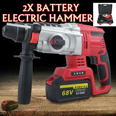Electric Rotary Demolition Drill Hammer Battery Compact Cordless Hammer Driver