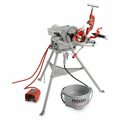 Ridgid 15682 300 Complete 38 Rpm Pipe Threading Machine