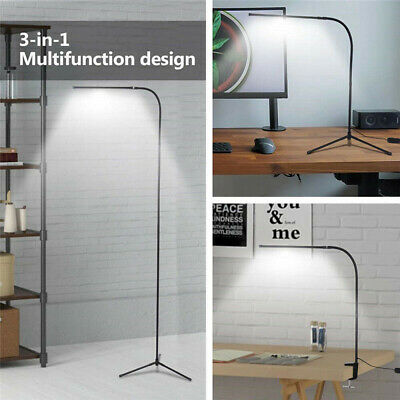 Modern Adjustable Floor Lamp Standing LED Dimmable For Reading Home Office