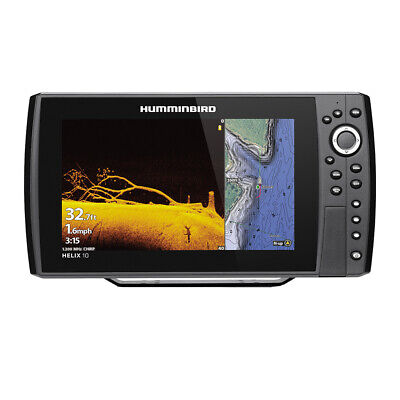 Expedited Delivery! Humminbird HELIX 10 CHIRP MEGA DI Fishfinder/GPS Combo
