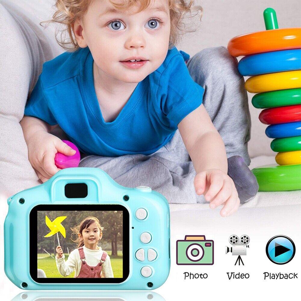 1300W LCD 1080P Kinderkamera Digitalkamera für Kinder Geschenk Spielzeug 32GB