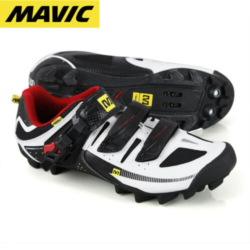 Mavic Rush Off-Road Mens MTB Shoe - White/Black/Red - EUR 43 / US Mens 9.5