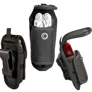 NITE IZE MULTI TOOL KNIFE STRETCH HOLSTER LEATHERMAN GERBER POUCH