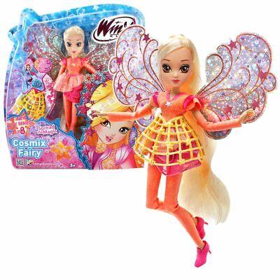 Stella   Cosmix Fairy   Winx Club   Bambola con Ali Olografiche Mobili