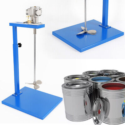 5 Gallon Pneumatic Paint Mixer Blender With Stand Industry Coating Mixing Tool