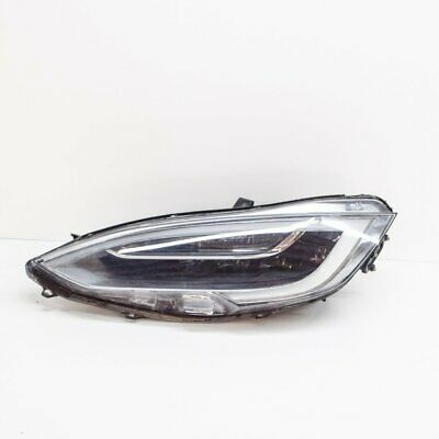 TESLA MODEL S 75D Front Left Side LED Headlight 00199215 1053578-00-C 2018 RHD