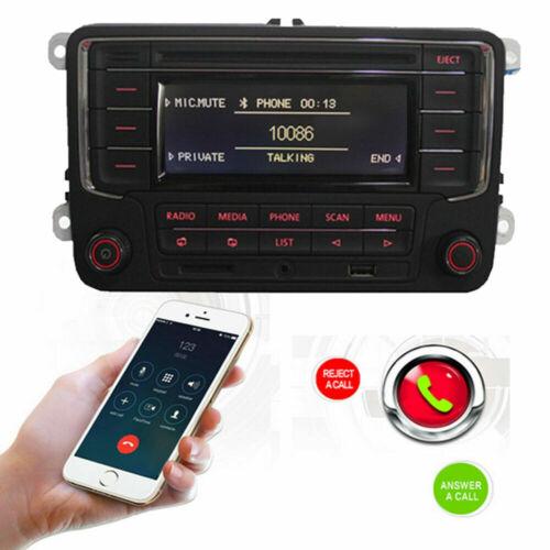 Autoradio Stereo RCN210 Bluetooth CD USB AUX VW GOLF TOURAN CADDY PASSAT POLO