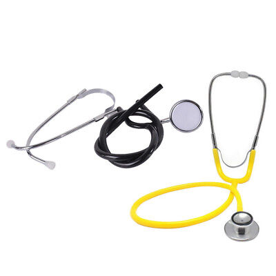 Single Head Stethoscope Dual Head Emt Clinical Medical Auscultation Device Parts