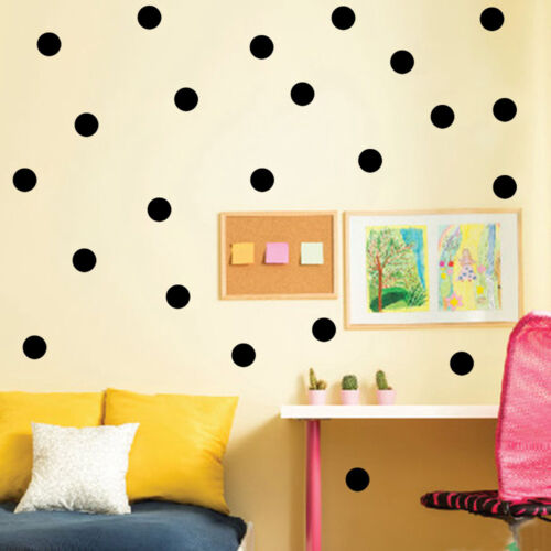 """100ct 2/"""" Peel And Stick Polka Dot Circle Wall Decal Sticker ANY COLOR"""