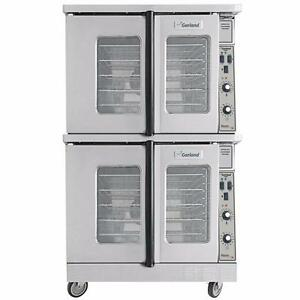 GARLAND DOUBLE STACK GAS CONVECTION OVENS ( MANUFACTURED 2010 )