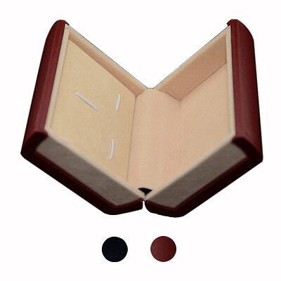 Promotion Black/Red Cufflink Box Best Gift Box Lavalier Set Box for Cufflinks